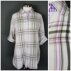 4 for $10- Foxcroft Blouse size 14